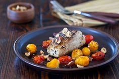 Cod with Hazelnut Browned Butter from Steamy Kitchen Recipes    Sounds delicious!