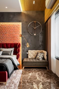 Indian Bedroom Design, Bedroom Wall Designs, Bedroom Closet Design, Bedroom Wall Colors, Living Room Designs, Living Spaces, Modern Home Interior Design, Modern Bedroom Design, Interior Architecture