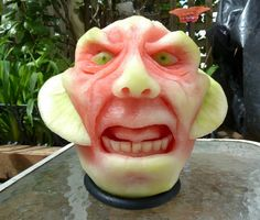 These Crazy Sculptures by Clive Cooper Will Change The Way You Look At Watermelon Forever