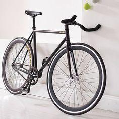 hand built fixed gear single speed bike by quella | notonthehighstreet.com
