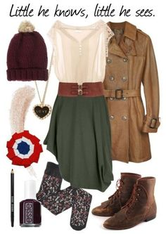 Eponine from Les Miserables inspired outfit from Broadway Hipsters