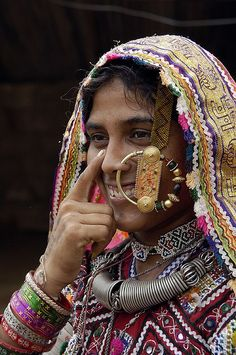 *Kutch/Kuchchh woman. India