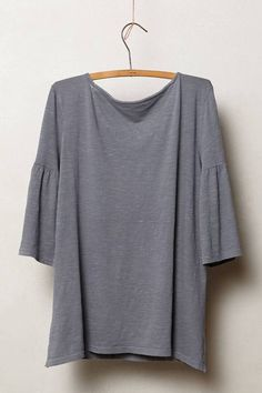 Slubby Bell Sleeve Pullover by Pure + Good