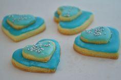 srdiečka modro-modré