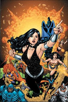 DC SPECIAL: THE RETURN OF DONNA TROY #3 phil jimenez
