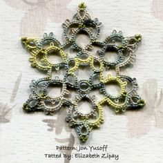 tatted beaded necklace patterns - Bing Images