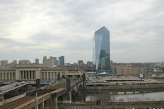 View from 9th floor at 2200 Arch St.