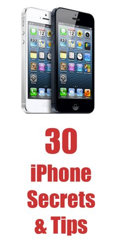 30 iPhone Tips You Will Love