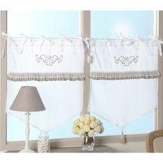 rideau d co anges mathilde m d coration romantique de la maison de la marque mathilde m. Black Bedroom Furniture Sets. Home Design Ideas
