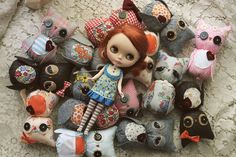 drowning in owls!!