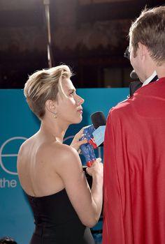 Scarlett Johansson Photos Photos - Premiere Of Marvel's 'Avengers: Age Of Ultron' - Arrivals - Zimbio