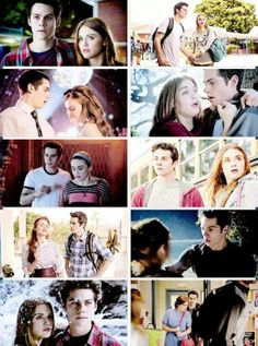 #TeenWolf - Stiles and Lydia