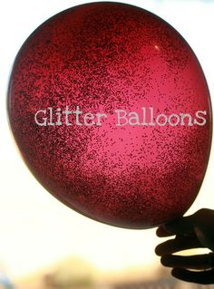 Glitter balloons! Pour any color glitter into any color balloon with a paper funnel. When you blow up the balloon, do not suck in! No one wants a mouth full of glitter. Tie the knot really tight! Perfect for any event/occasion. Kids love em too!