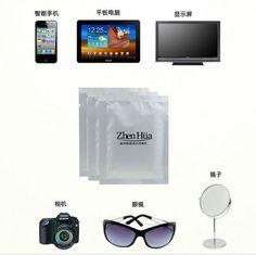 Desinfectante Toallitas Húmedas toallitas paño De Limpieza de microfibra gafas paño de limpieza de pantalla LCD Z666