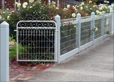 Image detail for -Heritage Wire - Picket - Mini Orb - Ripple Iron - Feature Gates ...
