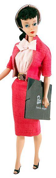 #4 Vintage Barbie in Busy Gal