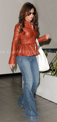 Cheryl Cole Style and Fashion - J Brand Bette Wide Leg Jean in Wonderama - Celebrity Style Guide