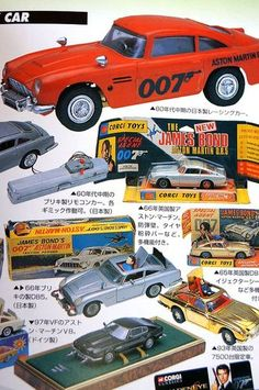 007 James Bond Movies Tin Toy Attache Figure Book Japan Collector Book 127P | eBay