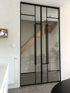 Stalen-smeedijzeren raam INCEE Smeedijzeren dubbele pivoterende deur INCEE  #INCEE #smederij_incee