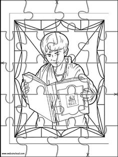printable jigsaw puzzles to cut out for kids spiderwick 9 coloring pages