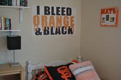 San Francisco Giants themed bedroom