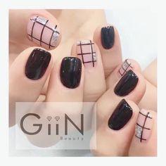 #nail #nailart #nailpolish #naildesign #nailswag #manicure #fashion #beauty #nailstagram #nailsalon #instanails #nails2inspire #love #ネイル #art #gelnail #cute #gelnails #polish #style #gel #naildesigns #instanail #pretty #check #nailtech #black #painting