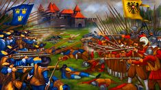 Close-quarter battle between Swedish and Imperial German armies during the Thirty Years War