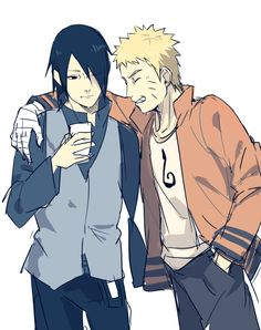 Sasuke Uchiha and Naruto Uzumaki    Boruto: Naruto Next Generations