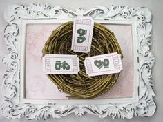 Mitten Tickets Christmas Party Games Carnival by GoldenNestStudio
