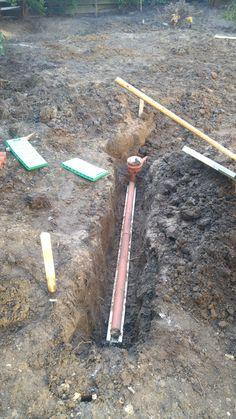 Awesome Drainage mit Tonrohren Bauanleitung zum selber bauen