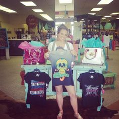 Shirts from the Krystal M. Campbell Collection available at D'Vine Designs in Kingsville, TX & at www.banderastyle.com