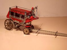 Meccano Stagecoach by Antoni Gual