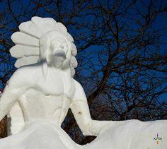 Chief Ottawa, Garden Sculpture, Statue, Outdoor Decor, Art, Art Background, Kunst, Performing Arts, Sculptures