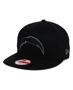 d320d57727f New Era San Diego Chargers Black Gray 9FIFTY Snapback Cap San Diego  Chargers