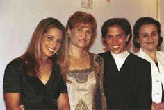 The King's sisters: Princesses Haya, Aisha, Zein & Alia of Jordan - 9 June 1999