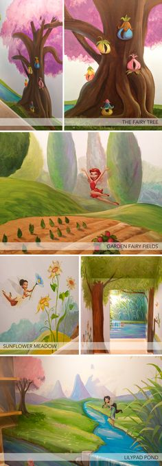 Pixie Hollow Playroom - How fantastic is this?!