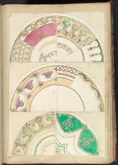 Nine Designs for Decorated Plates, 1845–55 Alfred Henry Forrester [Alfred Crowquill] (British, London 1804–1872 London) Patron: Probably commissioned by Samuel Alcock & Company (British, active ca. 1828–1859) Pen and ink, and watercolor, sheet: 42.5 x 29 cm The Metropolitan Museum of Art, 56.527(28)