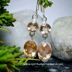 Private: Peach Quartz Earrings