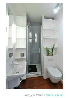 Banheiro pequeno? Mude a disposição! Genial!