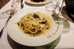 Pasta alla gricia at Armando al Pantheon