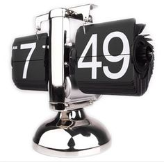 $34.00. Retro Spin Desk Clock. Numbers change just like in a vintage airport!
