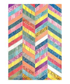 Look at this Pink & Yellow Shante Rug on #zulily today!