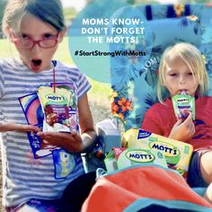 It's @Motts to the rescue during these busy times ! Mott's® NEW 100% Juice Pouches makes it easy to keep on hand in the car as well is in their snack boxes.We grab our Mott's at our local @albertsons store and you can too!  Be sure to grab a coupon and save $1 off Mott's 8-Pack 6.75oz 100% Juice Pouches! http://goic.io/9S3THu  Be the best mom ever and #StartStrongWithMotts #IC #ad