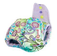 Daydreamer One-Size Fitted Diaper with CV or OBV by thegoodmama.com, via Flickr