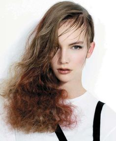 Styled by the Trevor Sorbie Artistic team in the March 2012 issue of American Salon.