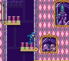 pixelclash:  springy - Mega Man 7 (Capcom - SNES - 1995)