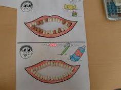 okul öncesi diş sağlığı ile ilgili sanat etkinliği ile ilgili görsel sonucu