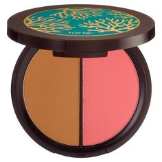 New at #Sephora: Tarte Power Couple Amazonian Clay Blush & Bronzer Duo #makeup #palettes