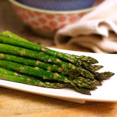 SCD Oven-Roasted Asparagus
