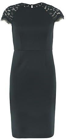 Womens pine green dress from Dorothy Perkins - £32 at ClothingByColour.com